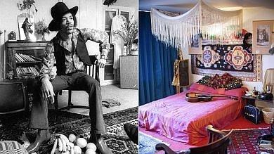 Hendrix-Händel, strani vicini A Londra un museo per due