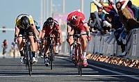 Qatar, Kristoff al fotofinish Cavendish resta leader