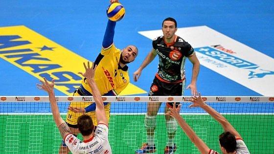 Volley, Superlega: tra Modena e Trento è subito rivincita