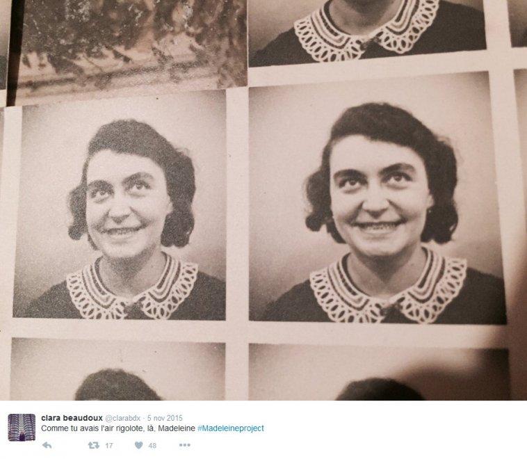 """""""Vi presento Madeleine"""": 100 anni, sconosciuta, rivive sul web"""