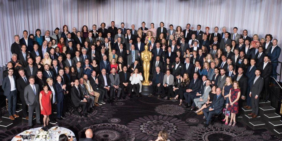 #OscarSoWhite, la foto ufficiale che imbarazza l'Academy