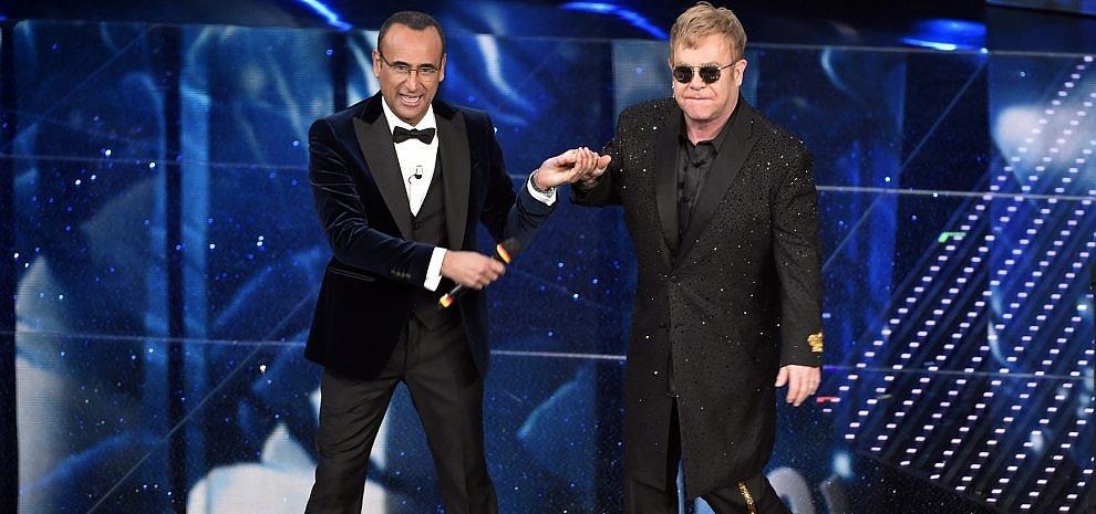 Sanremo, ascolti alle stelle: per la prima serata più di 11 milioni, share oltre il 49%