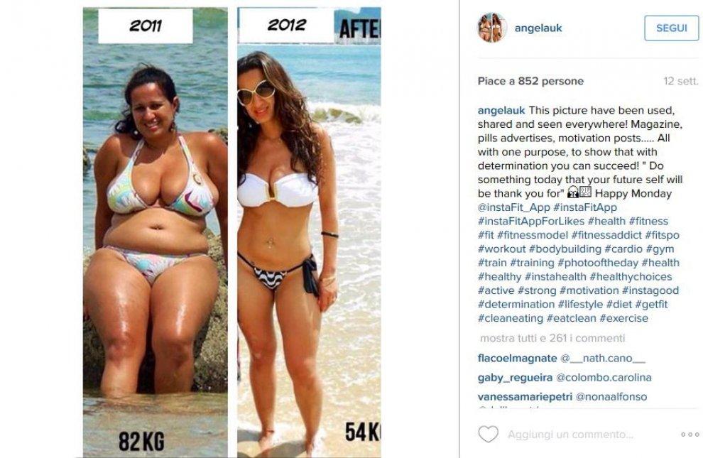 Gb, perde 35 chili in 8 mesi, marito deluso la lascia