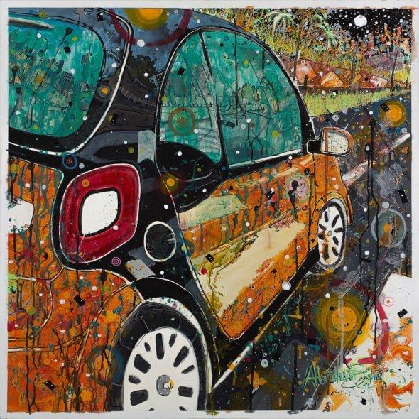 """""""AutoRitratti"""", la Smart è anche arte"""