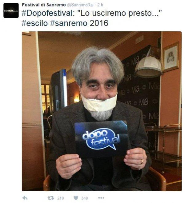 Sanremo, su Twitter l'attesa più grande è per Beppe Vessicchio