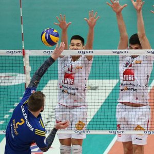 Volley, Superlega: Lube batte Verona e vola in testa