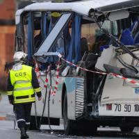 Francia, incidente minibus con scolaresca