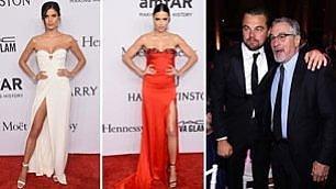 Moda e star: Carol Alt e DiCaprio monopolizzano il gala dell' Amfar