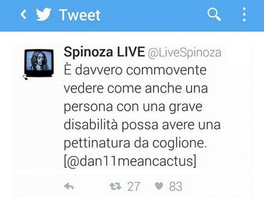 Bosso, il tweet sui capelli: l'ironia del maestro batte Spinoza