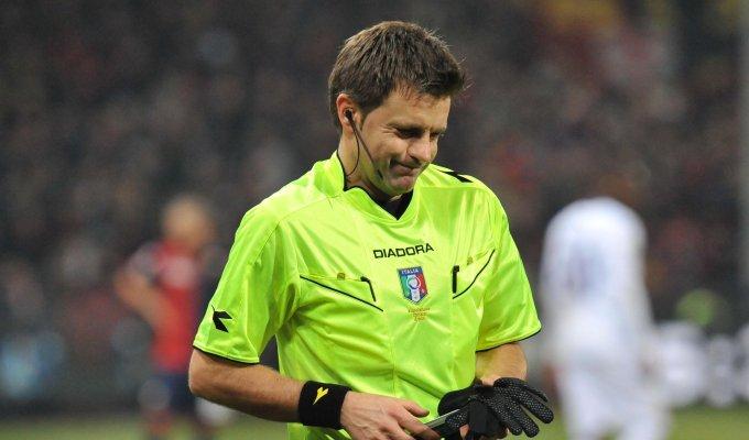 Cambia l'arbitro: Rizzoli dà forfait, c'è Orsato