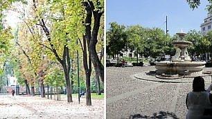 La mappa dei baci a Milano Ecco i luoghi del cuore