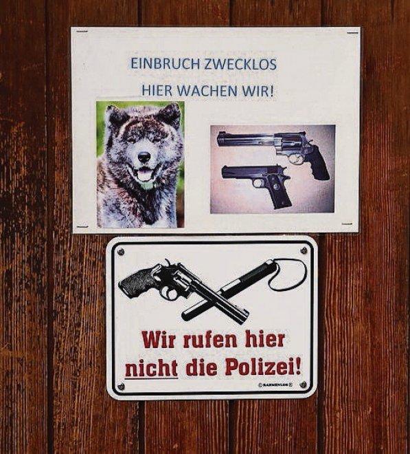 """Svizzera, commerciante esasperato dai furti espone cartello: """"Ladri qui vi spariamo"""""""