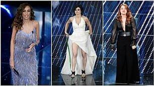 Frange e paillettes: i look sul palco