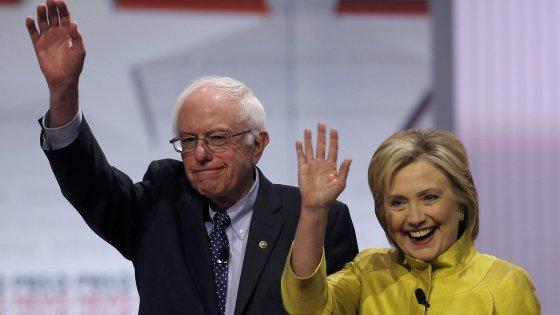 Primarie Usa, Clinton e Sanders a caccia del voto afroamericano e ispanico