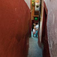 Messico, nel Callejon del Beso: il vicolo più stretto per gli amanti