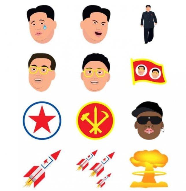 Kim Kardashian lancia nuove emoticon: c'è anche Kim Jong-un