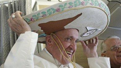 Francesco in volo per il Messico   foto   A Cuba faccia a faccia col patriarca Kirill