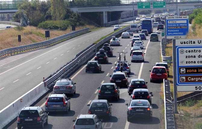 Traffico stradale, volumi in aumento