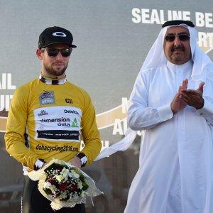 Ciclismo, Giro del Qatar: secondo successo per Cavendish, a Kristoff l'ultima tappa
