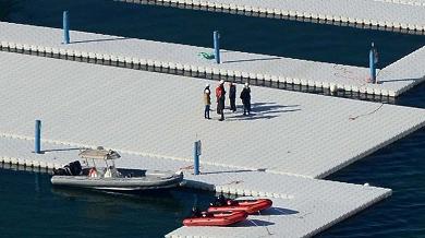 """Camminare sull'acqua con Christo   foto   """"Sul lago di Iseo realizzo il mio sogno"""""""