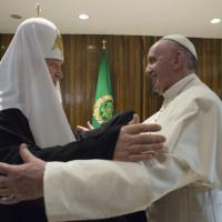 Papa Francesco a Cuba per lo storico incontro con il patriarca Kirill