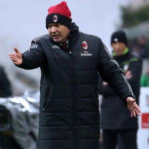 """Milan, Mihajlovic: """"Superiori a chi ci precede, basta sprecare occasioni"""""""