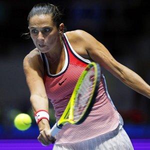 Tennis, Vinci supera anche Ivanovic. E' in finale a San Pietroburgo