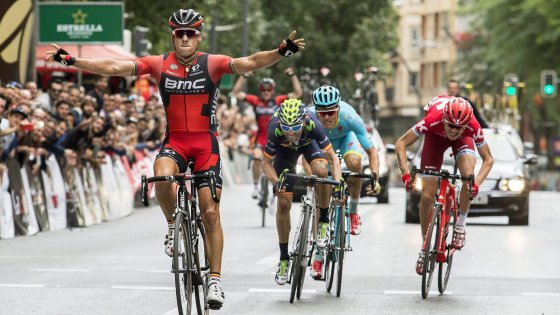 Ciclismo, Vuelta Murcia: Gilbert batte Valverde