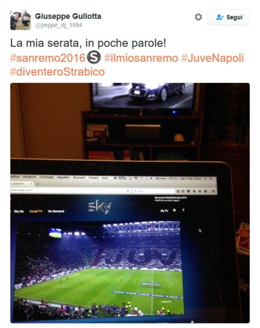 Sanremo 2016, i tweet imperdibili della serata finale