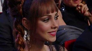 Sanremo 2016, baci per Adua    ecco la fidanzata di Garko