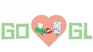 Festa di San Valentino  tutti gli amori nel doodle