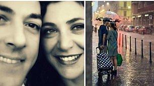 """Gli innamorati sotto la pioggia """"Facebook ci dava la caccia"""""""