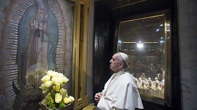 """Il Papa: """"Il Messico vada agli onesti      Narcos, una metastasi che divora""""   foto"""