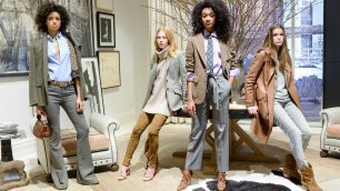 NY: Polo Ralph Lauren, coerenza e stile    Rihanna sfila