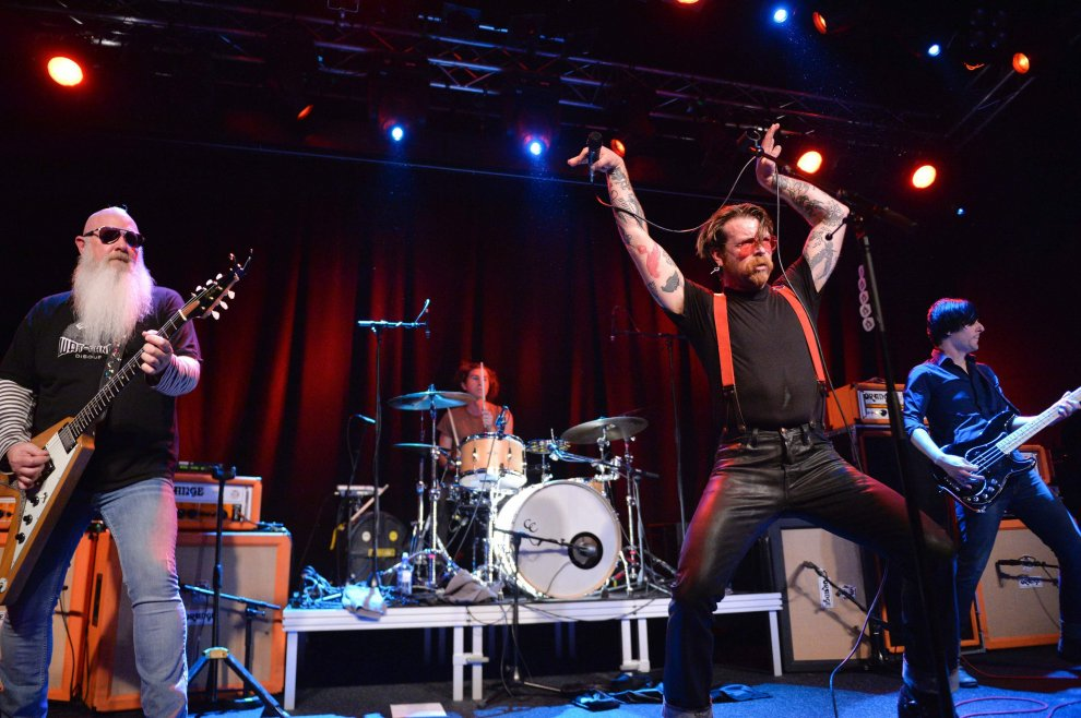 Stoccolma, Eagles of Death Metal: il primo concerto dopo il Bataclan