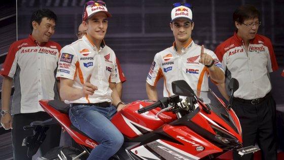 """MotoGp, svelata la nuova Honda. Marquez: """"Tanto lavoro per essere competitivi"""""""