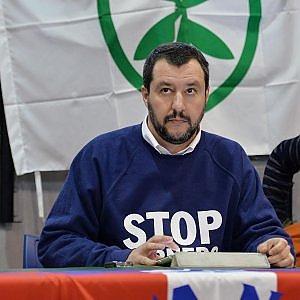 """Salvini: """"La magistratura italiana è una schifezza"""""""