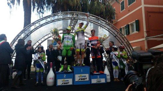 Ciclismo, Trofeo Laigueglia: la prima di Fedi