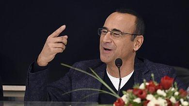 Conti confermato: farà il terzo Sanremo Rai: attivo di 6,5 mln   Foto   /       Videoblob
