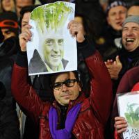 Fiorentina-Inter, l'ironia dei tifosi viola contro Mancini