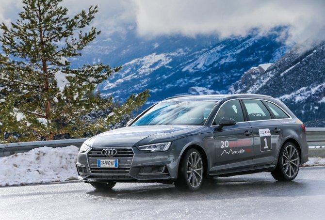 Audi20quattro ore, lo show della prima tappa