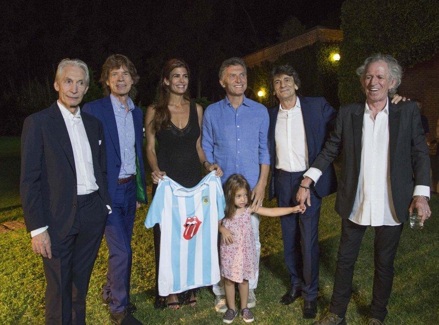 Argentina, i Rolling Stones a cena dal presidente Macri