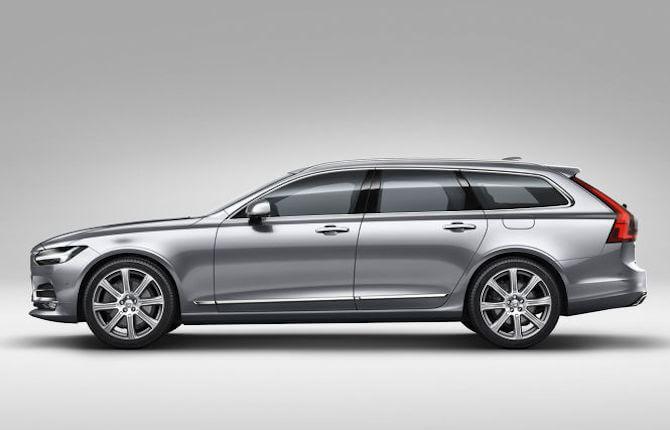 Nuova Volvo V90: 60 anni (di esperienza) e non sentirli