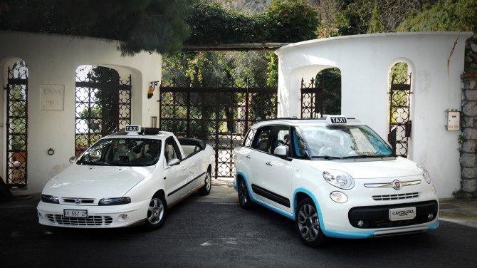 Castagna Tiberio, il super taxi per Capri è servito