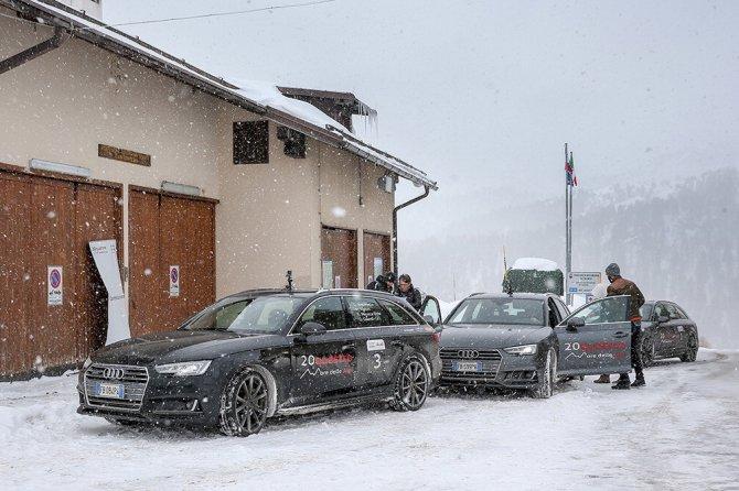 Audi20Quattro, la quarta tappa