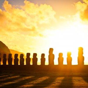 La civiltà dell'isola di Pasqua non fu distrutta dalle guerre
