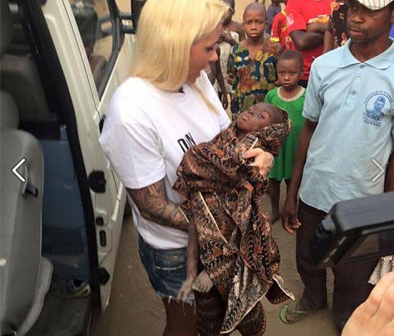 La storia di Hope, il bimbo 'stregone' salvato in Nigeria da una cooperante danese