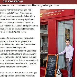 """Il ristorante francese: """"Cani accettati, banchieri no"""""""