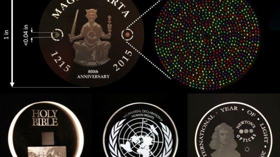 Salvare dati per miliardi di anni: possibile con il disco 5D