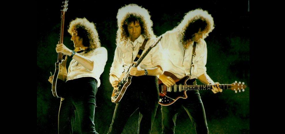 Il chitarrista dei Queen Brian May insieme alla cantante Kerry Ellis, due live per I Cani